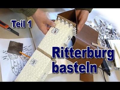 Ritterburg basteln Modellbau #1