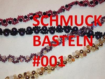Schmuck selber basteln #001 - Swarowski-Armband