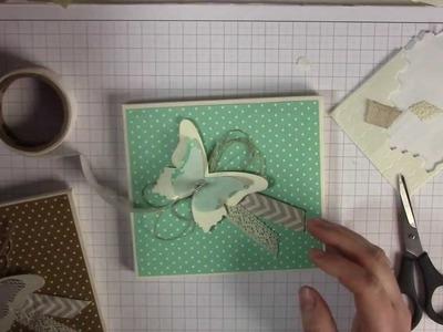 Tutorial: CD-Verpackung mit dem Envelope Punch Board und Stampin' Up!