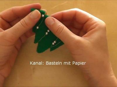 Weihnachtsdeko selber machen - Weihnachtsschmuck: Anhänger