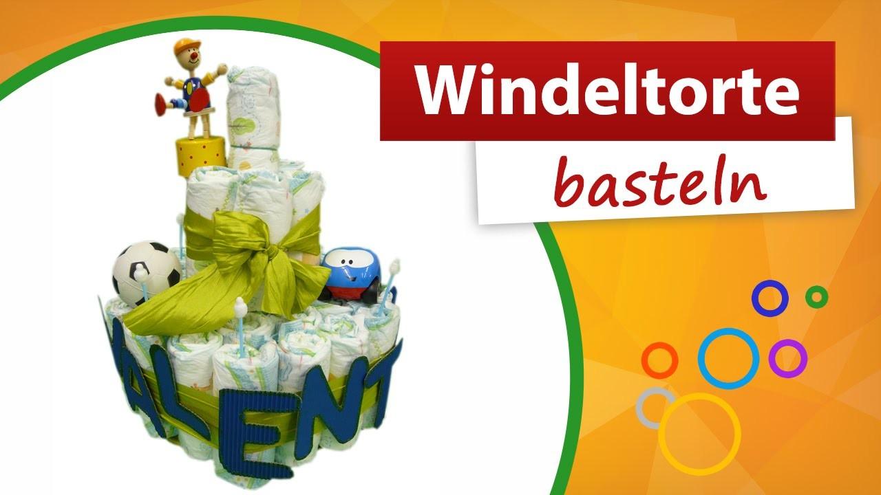 Windeltorte basteln - | Do it yourself - trendmarkt24 Babygeschenk
