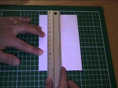 Anleitung - Briefumschlag als Geschenktüte basteln