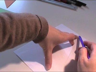 Anleitung - Wimpelkette für Ostern oder Geburtstag basteln