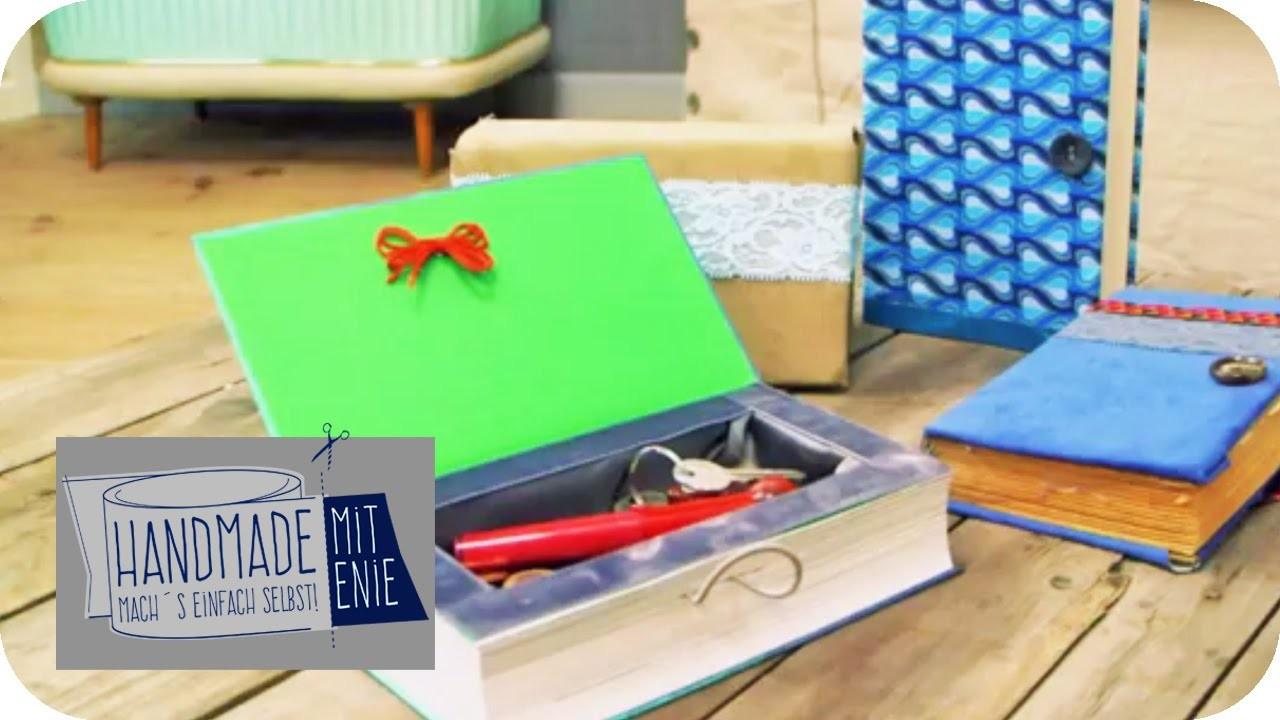 Buch-Clutch | Handmade mit Enie - Mach's einfach selbst | sixx