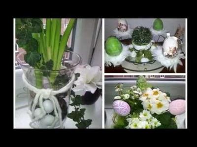 Dekoideen zu Ostern, basteln, backen, dekorieren (DIY)