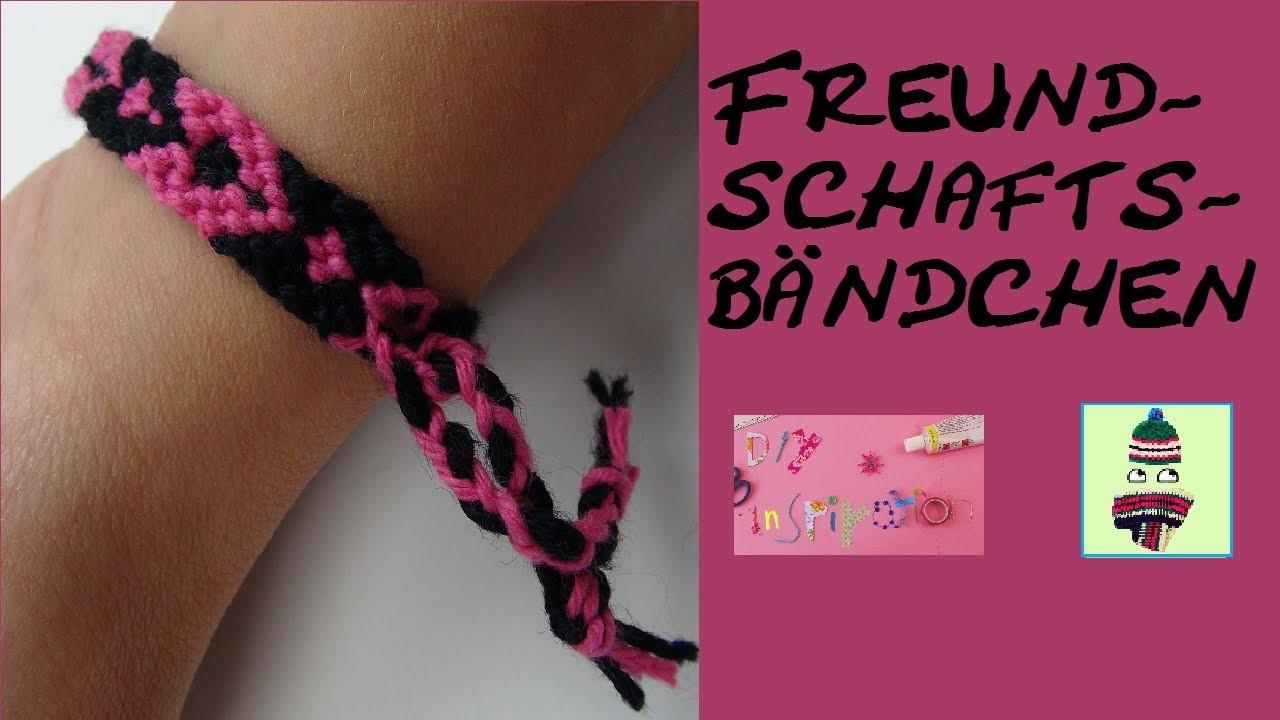 DIY: Armband. Freundschaftsbändchen aus Baumwolle knüpfen (Vol. 3) - Gast: Eva von 'Tolle Wolle 24'