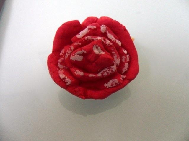 DIY Basteln Rose Blume