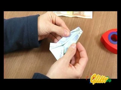 Geldgeschenke falten: Geld Hemd falten mit Rock