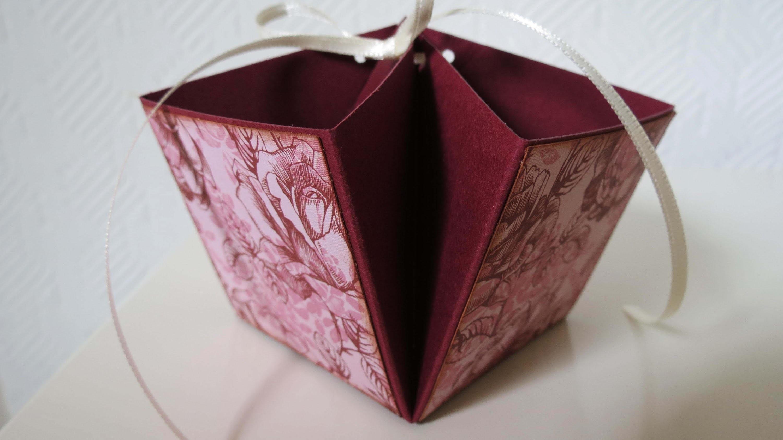 Geschenk Körbchen * DIY * Paper Gift Basket [eng sub]