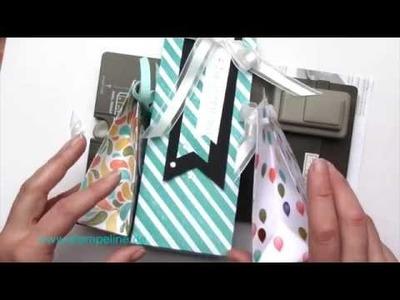 Geschenktüten mit dem Stanz- und Falzbrett basteln