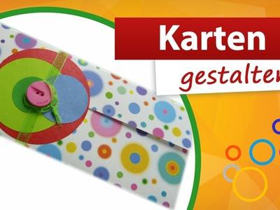 ♥ Karten basteln Idee ♥ Babykarte selber machen - trendmarkt24