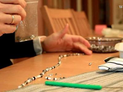 Perlenkette selbst basteln - Anleitung. Tutorial - Tipps für Weihnachten