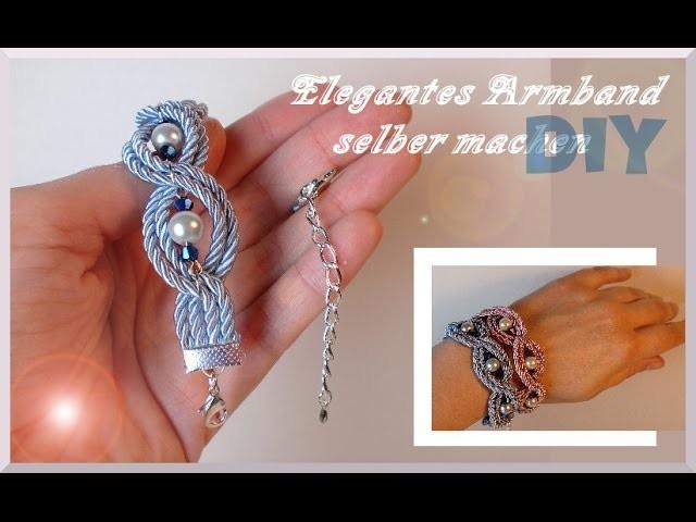 Schmuck basteln: Elegantes Armband [diy]
