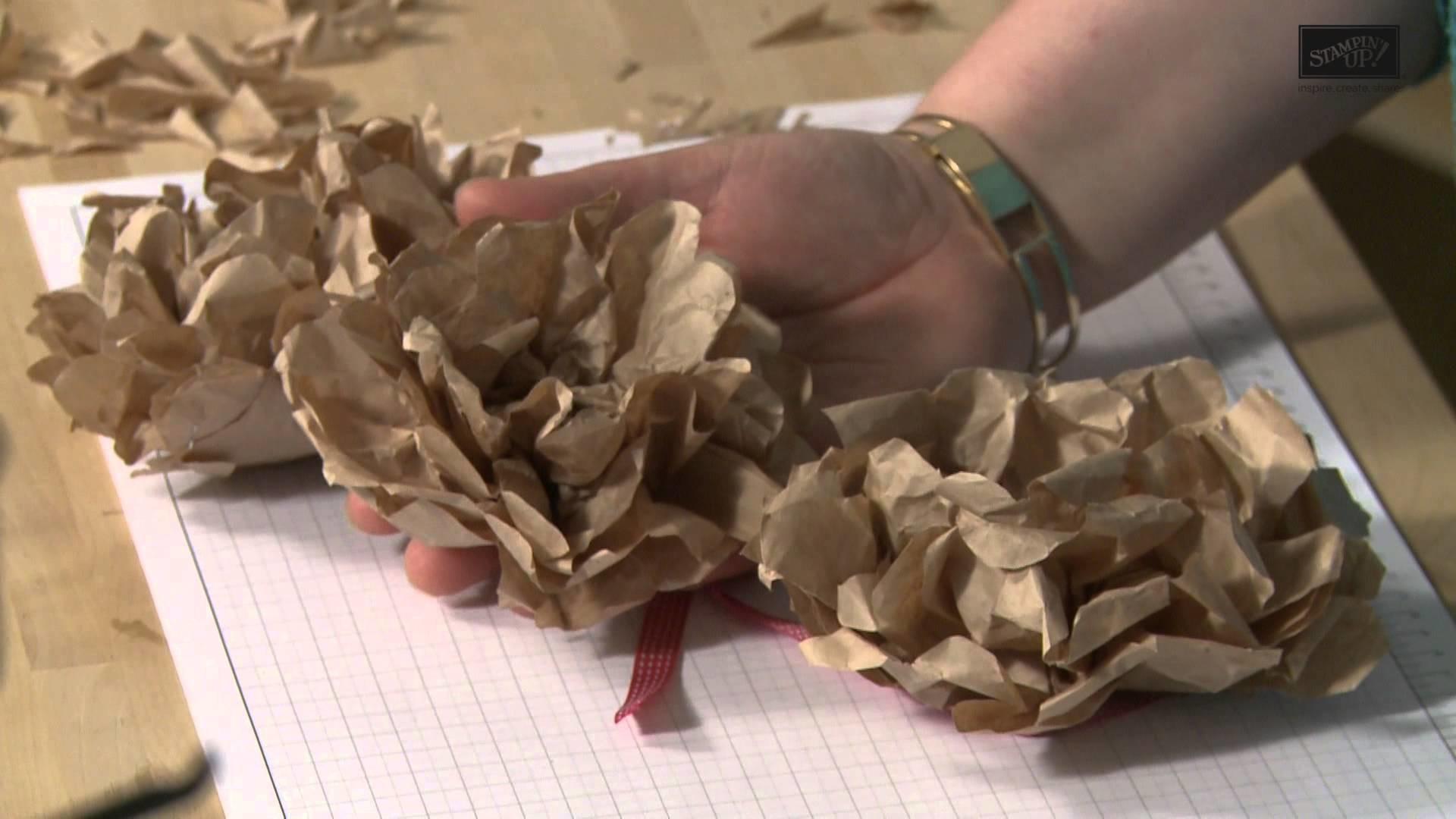 Trickkiste Papierblumen