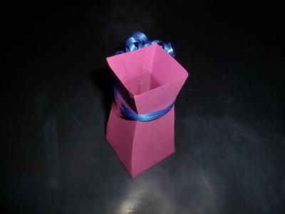 Vase aus Papier: Paper-ART - Bastelanleitung [HD.deutsch]