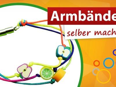 ♥ Armbänder zum selber machen ♥ Mit Kindern basteln - trendmarkt24