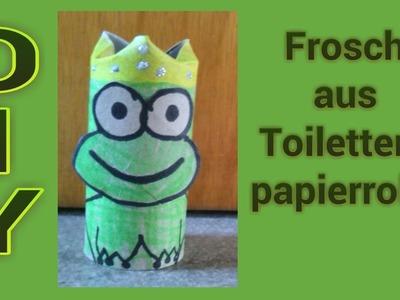Basteln für Kinder : Froschkönig