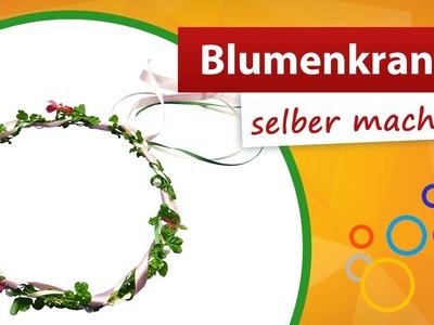 ♥ Blumenkranz selber machen ♥ Haarschmuck basteln - trendmarkt24