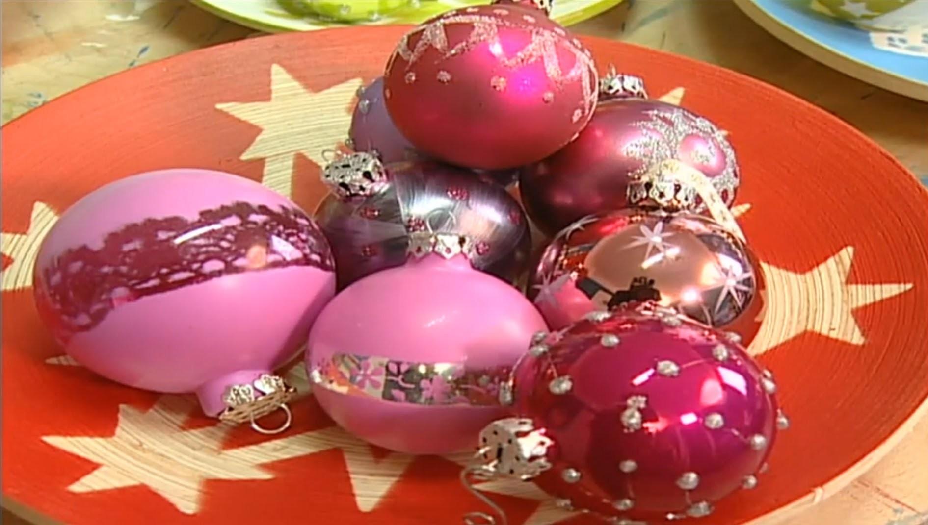 Dekotipp für Weihnachten: Baumschmuck selbst gestalten und basteln
