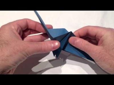 Dinosaurier aus Papier falten