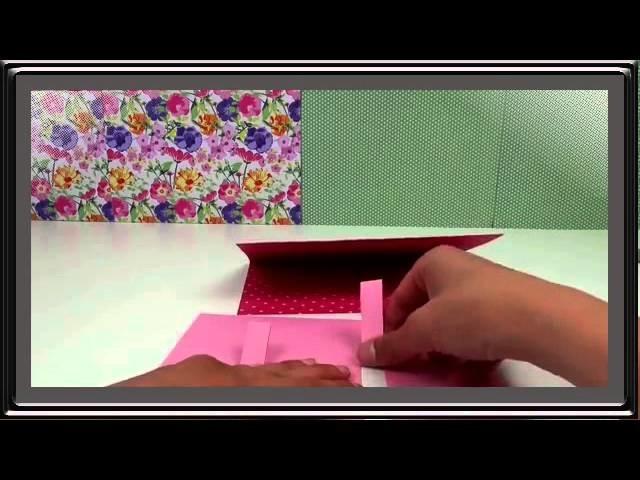 DIY Basteln einer Pop Up Karte zur Hochzeit  zum Geburtstag