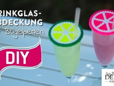 DIY: Coole Trinkglasabdeckung mit Bügelperlen selber machen | Deko Kitchen