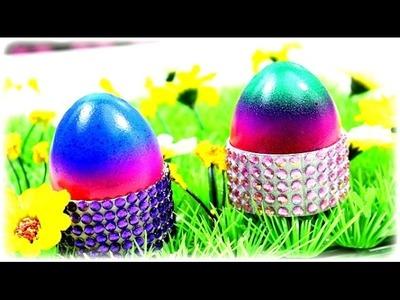 DIY Eierbecher basteln | Basteln mit Klopapierrollen | DIY Ostern 2015 selber machen