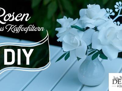 DIY: romantische Rosen aus Kaffeefiltern | Deko Kitchen