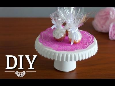 DIY: Süße Mini-Tortenplatten selber machen | Deko Kitchen