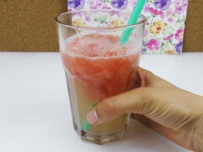 Erfrischungsgetränk selber machen | mit Grapefruit und Zitrone für den Sommer