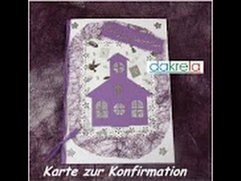 Karte zur Konfirmation. Kommunion. Taufe basteln card#5.2014 [Tutorial]