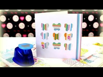 Karten selber basteln - DIY Bastelideen - Geburtstagskarte Einladungskarte