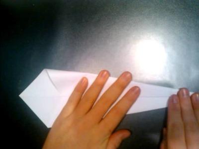 Origami Schwan basteln - Vogel aus Papier falten