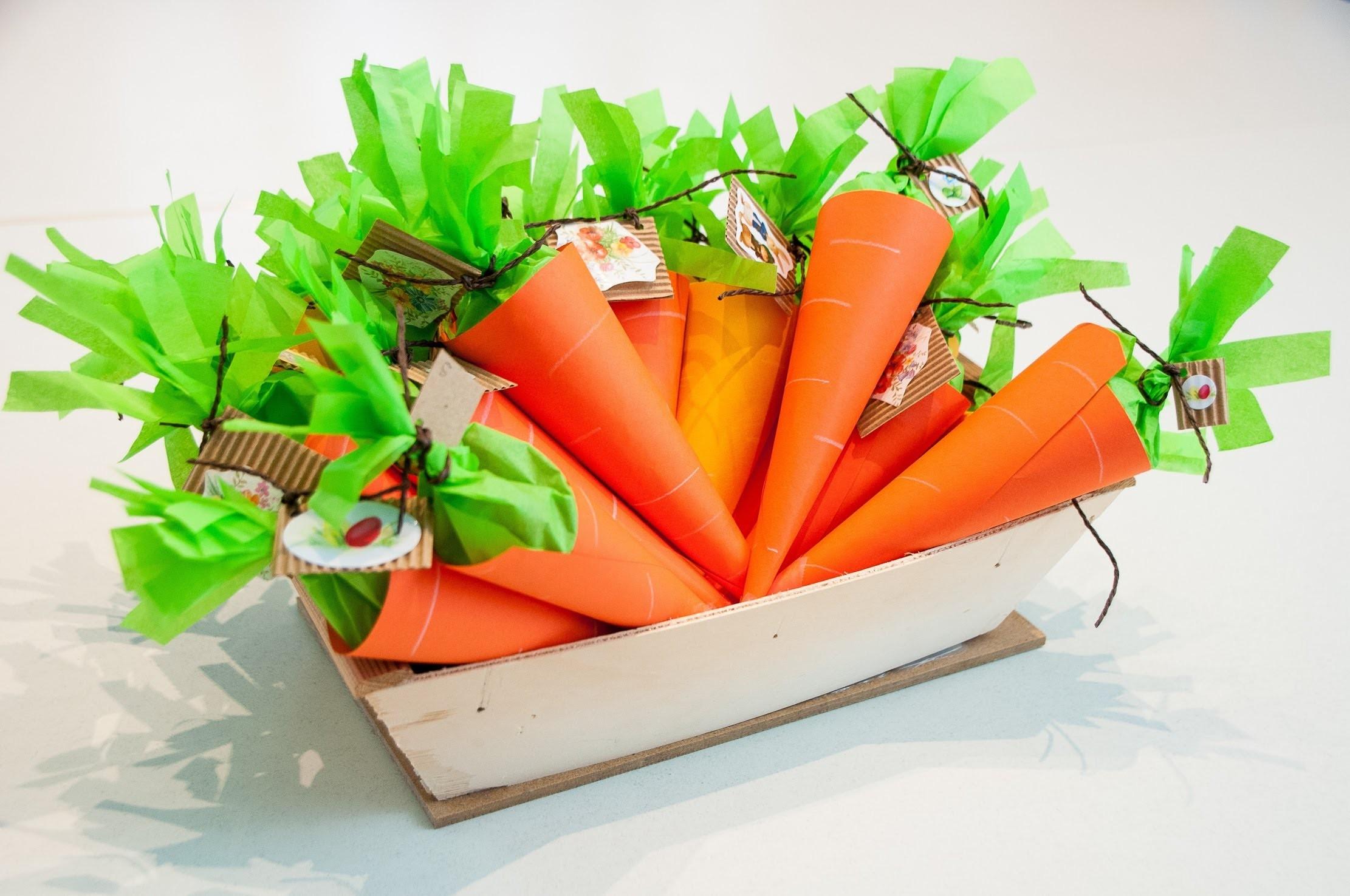 Oster-Karotte basteln