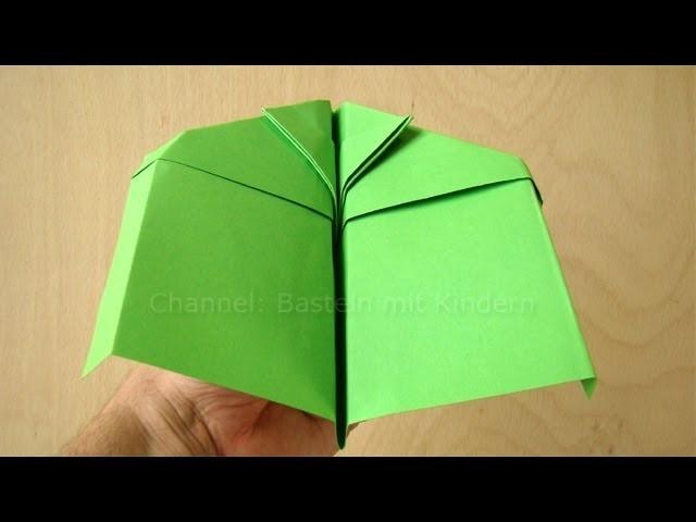 Papierflieger Anleitung - Papier falten