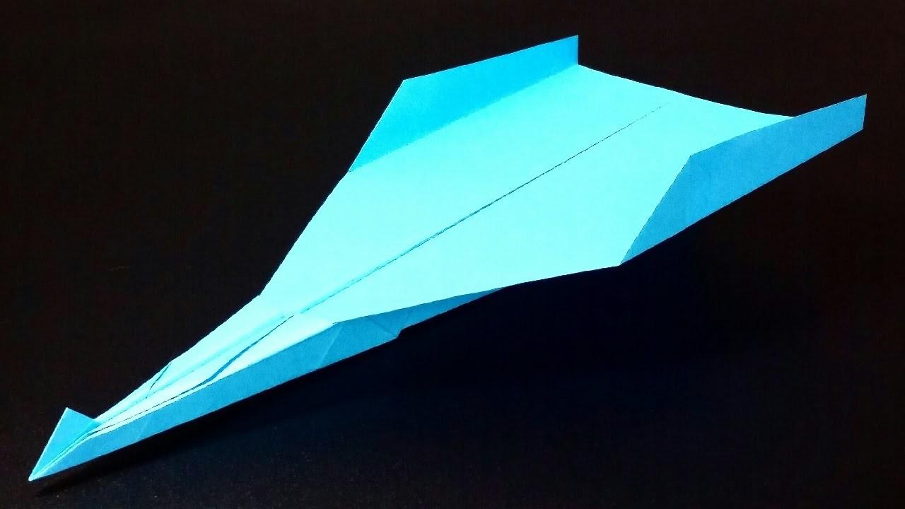 Papierflieger falten - Basteln - Papier falten - Beste Papierflieger der Welt - Rekord | Metaphor