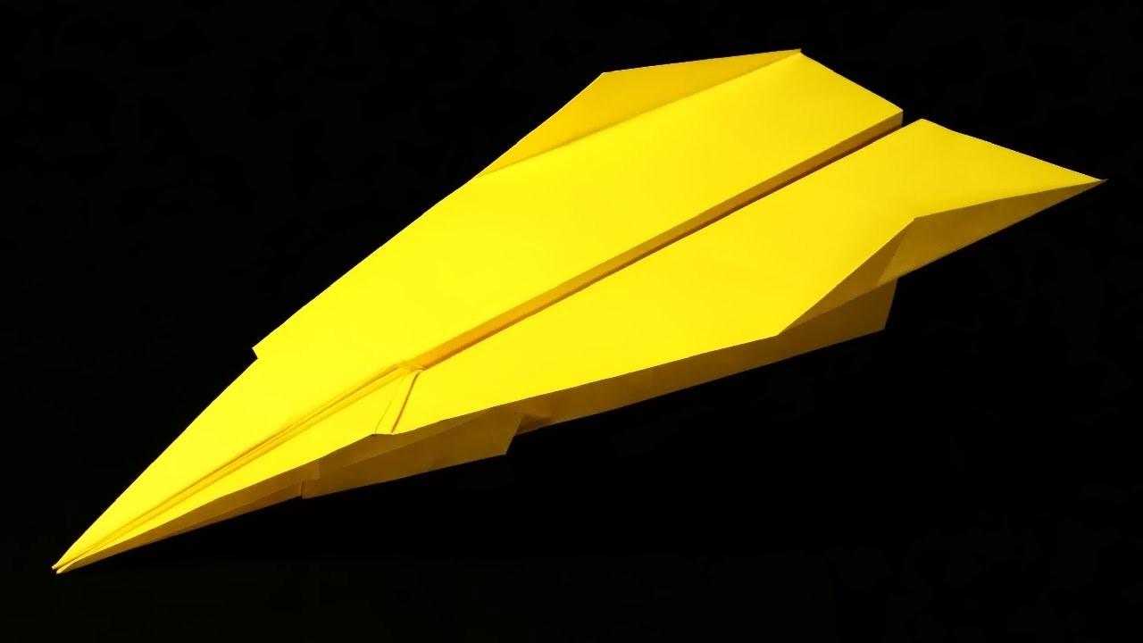 Papierflieger falten - Basteln - Papier falten - Beste Papierflieger der Welt - Rekord | Chicago