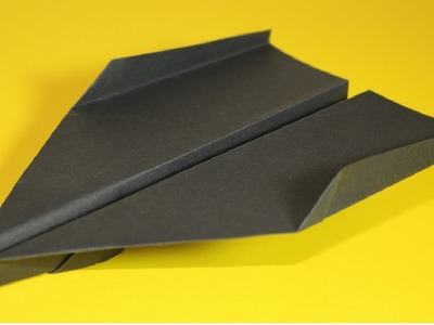 Papierflieger falten - Basteln - Papier falten - Beste Papierflieger der Welt - Rekord | Beth