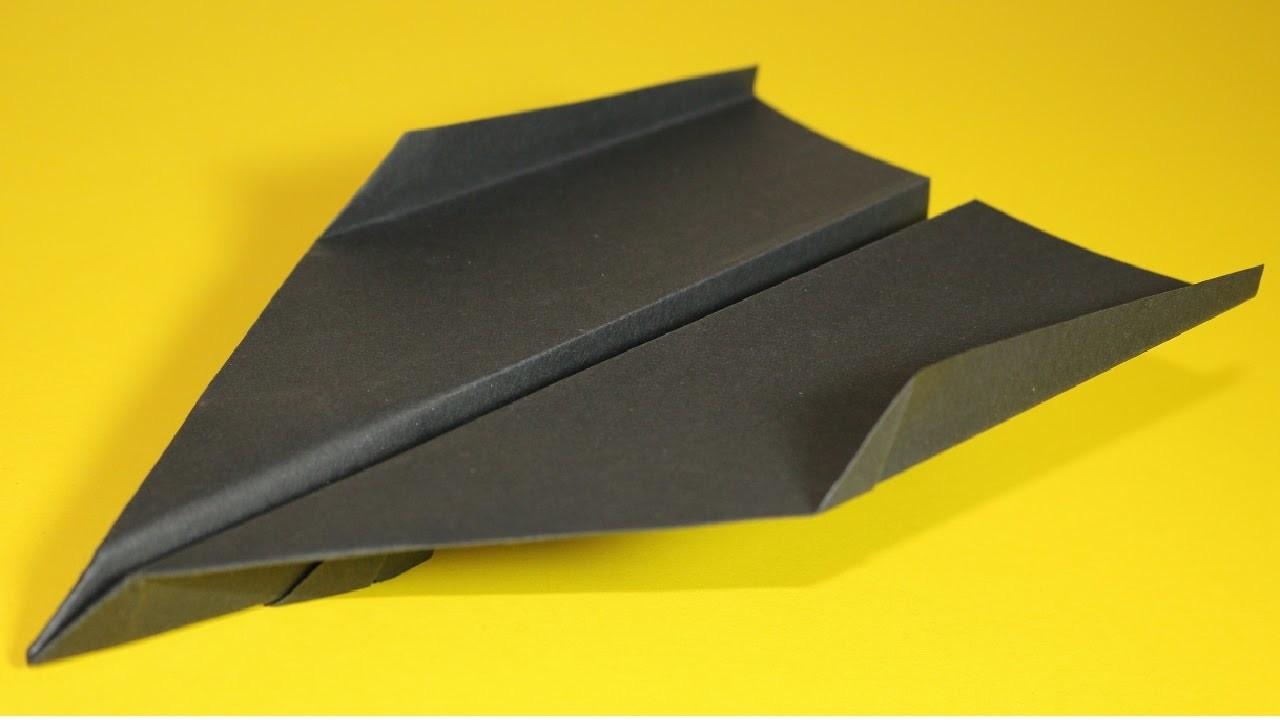 Papierflieger falten - Basteln - Papier falten - Beste Papierflieger der Welt - Rekord   Beth