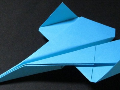 Papierflieger falten - Basteln - Papier falten - Beste Papierflieger der Welt - Rekord | Immortal