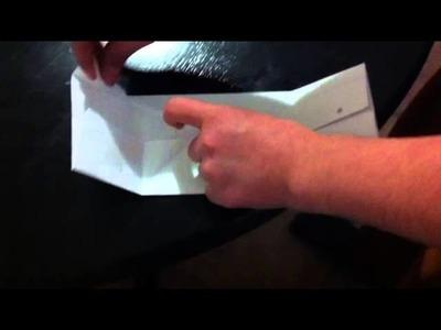 Papierhaus basteln - Bastelidee für Kinder