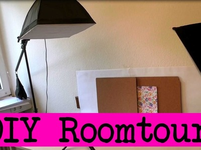 """Roomtour deutsch - DIY Inspiration Studio mit Eva &Kathi - """"Besucht"""" uns in unserem Bastelzimmer!"""
