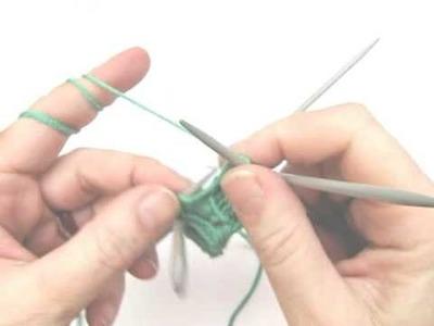 Socken stricken 2 * Schaft