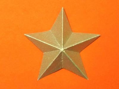 Sterne basteln. falten zu Weihnachten