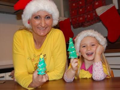 Weihnachten, Advent Recycling Basteln mit Kindern Teil2 - Weihnachtsbaum basteln