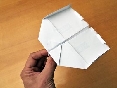 Wir basteln einen Papierflieger (Schwalbe)