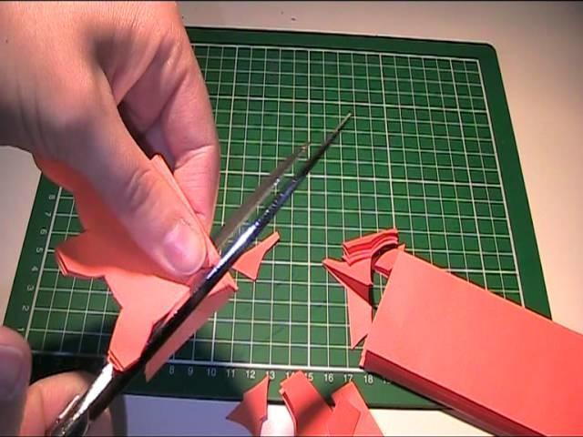 Anleitung - Hasenkette Girlande aus Papier basteln