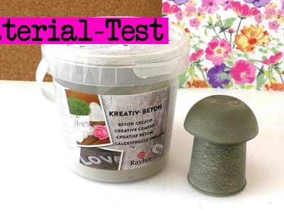 DIY Beton gießen - Material Test youtube Review Video