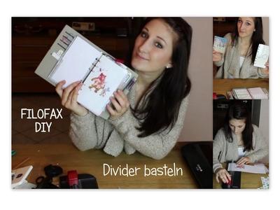 DIY: Divider selbst basteln | FILOFAX | Sassi-lee