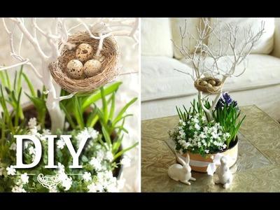 DIY: Hübsche Blumendeko.Centerpiece für Ostern selber machen | Deko Kitchen